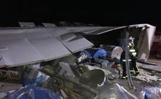 Cinco heridos en el accidente de un turismo y un camión en la A-6 en Mota del Marqués (Valladolid)