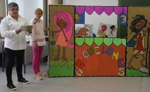 El mensaje de inclusión de 'Amyguelones', presente en los actos del Día del Libro