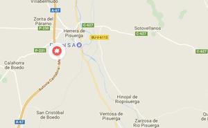 Fallece una mujer de 31 años en un accidente en la A-67 en Páramo de Boedo