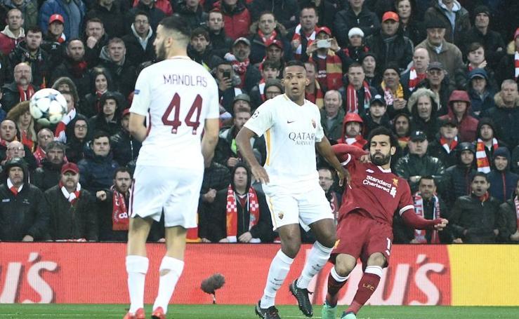 Los mejores imágenes del Liverpool-Roma