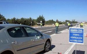 12 positivos el alcohol y 13 en drogas durante el fin de semana en las carreteras burgalesas