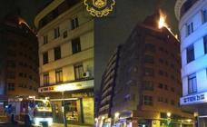 Incendio sin heridos en una vivienda de la calle Madrid