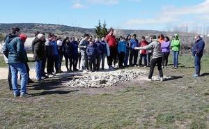 'Limpiemos la sierra' reúne en Atapuerca a 47 escolares de Burgos
