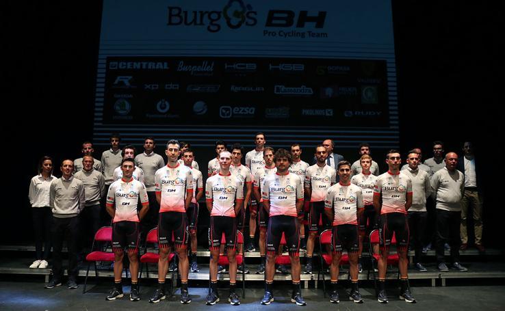 El Burgos BH presenta su estructura para hacer frente a la primera temporada como equipo Continental Profesional