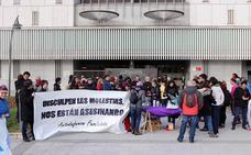 Concentración frente a los Juzgados en solidaridad por las detenidas en el 8M
