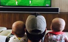 Enrique Iglesias disfruta de sus gemelos