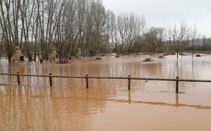 El PSOE pedirá zona catastrófica para la cuenca alta del río Riaza en Burgos