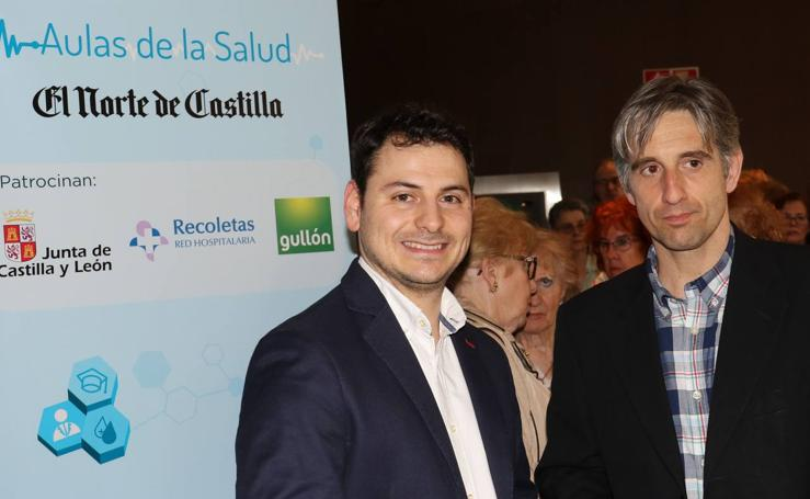 El podólogo Eduardo Simón, en las Aulas de la Salud de El Norte de Castilla