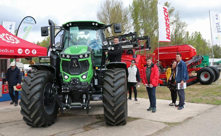 La Feria de Lerma da a conocer lo último en maquinaria agrícola