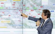 Arranca la demolición del viaducto sobre el Arlanzón para seguir avanzando en la llegada del Ave