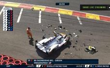 Grave accidente de Pietro Fittipaldi en Spa