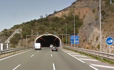 El jueves se realizará un simulacro de accidente en los túneles de Peña María en la A-1