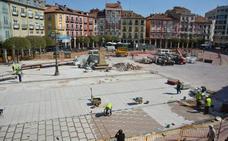 La reforma de la Plaza Mayor se adelanta a las previsiones
