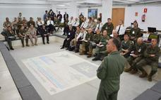 El Mando de Operaciones del Ejército prueba su capacidad en un ejercicio coordinado desde Burgos