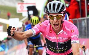 Simon Yates toma el Gran Sasso y es más líder del Giro