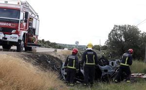 Muere un hombre calcinado en el interior de su vehículo en Villaseco de los Reyes