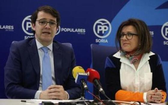 Mar Angulo dimite como presidenta del PP de Soria