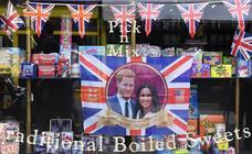 Londres se prepara para la boda real de Enrique y Meghan Markle