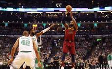 Un gran LeBron no evita que los Celtics dejen contra las cuerdas a los Cavaliers