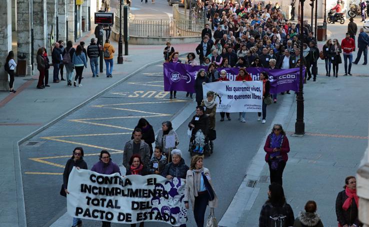 Burgos se suma a la convocatoria nacional por el Pacto de Estado contra la violencia de género