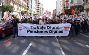 CC OO y UGT llaman a un pacto para marcar el futuro de las pensiones