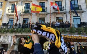 El rugby burgalés celebra el ascenso en un Ayuntamiento que estará a la «altura de las circunstancias»