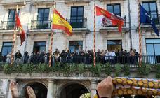 El Ubu Colina Clinic celebra su histórico ascenso en el Ayuntamiento, en imágenes