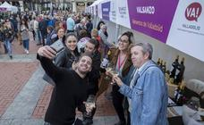 Jornada del sábado por la tarde en la feria 'Valladolid, plaza mayor del vino'