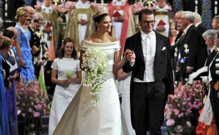 Grandes bodas de la realeza europea