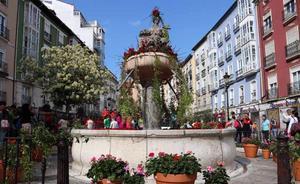 Burgos luce con un color especial