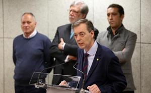 Germán Barrios promete combatir desde el CES «los virus del desempleo y la despoblación»