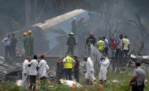 Los accidentes aéreos más importantes en Cuba