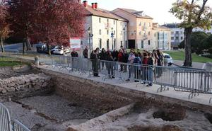 La excavación completa del Solar del Cid, a la espera del Plan de Empleo