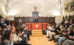 La secretaria general y los nuevos vicerrectores de la Universidad de Valladolid toman posesión de sus cargos