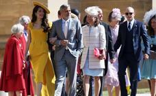 Los cinco momentos de la boda real