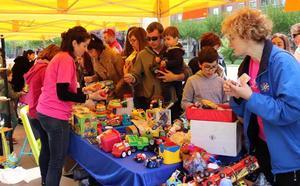 Más de 560 juguetes tendrán un nuevo dueño gracias al reciclaje