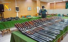 La Guardia Civil subastará 246 armas