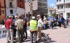 Nueva concentración de pensionistas