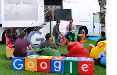 El autobús de Google llega al Paseo de Atapuerca jueves y viernes
