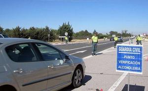 Cinco positivos por alcoholemia y tres por drogas durante el fin de semana en Burgos