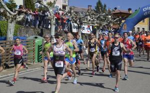 Más de 300 atletas se hacen con la media maratón de Hontoria del Pinar