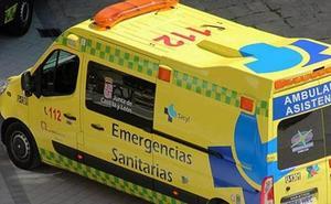 Herido un joven de 23 años en un accidente en Santo Domingo de Silos