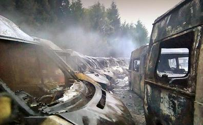 Los daños por el fuego de Ambuibérica en Vizcaya superan el millón de euros