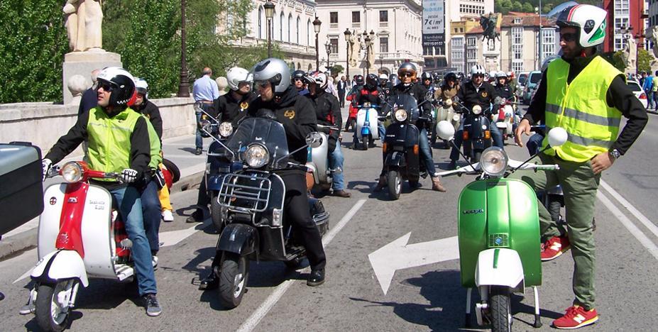 La scooter clásica tomará Burgos los días 26 y 27 de mayo