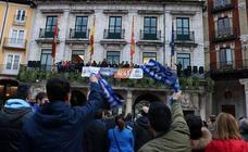El San Pablo se despide de su afición desde el Ayuntamiento
