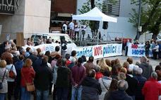 Un millar de burgaleses salen a la calle para exigir una sanidad pública de calidad