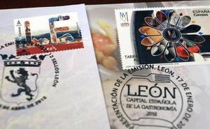 Correos emite nuevo sello dedicado a la Catedral de León tras confundirla con la burgalesa
