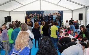 Peter Pan echa una mano a Down Burgos para fomentar la inclusión y promover la lectura