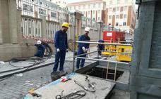 Una avería deja sin suministro eléctrico a 500 usuarios del centro de Valladolid