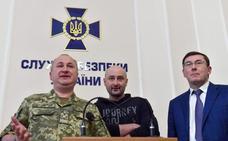 Ucrania anuncia que el periodista Babchenko está vivo y que ha frustrado un plan ruso para asesinarlo